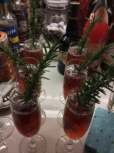 Fun holiday drink — The Mrs. Claustail