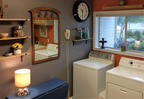 julie laundry room finished