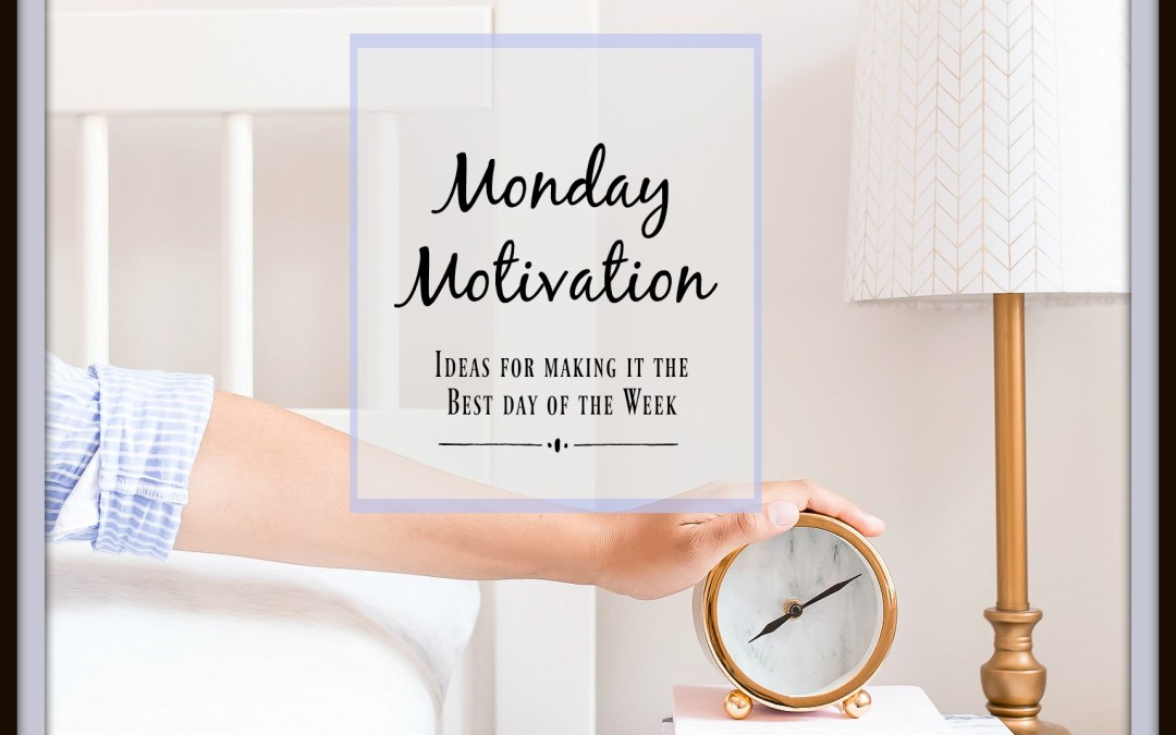 Motivation Monday:  Flowers on your desk, a mantra and a blanket of humanity
