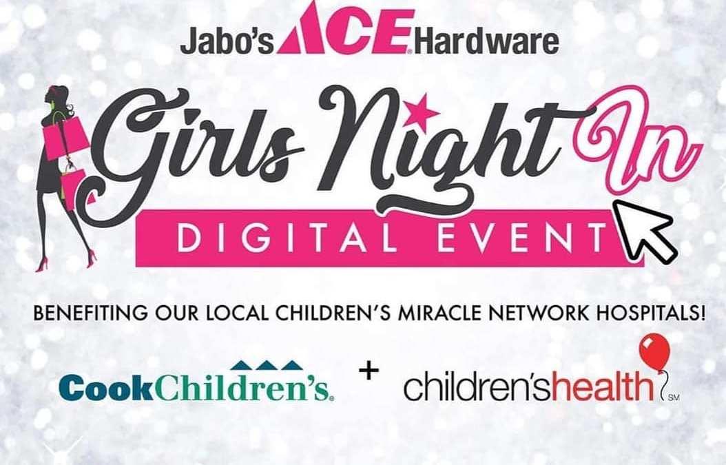 Jabo's Ace Hardware Virtual Girls Night In