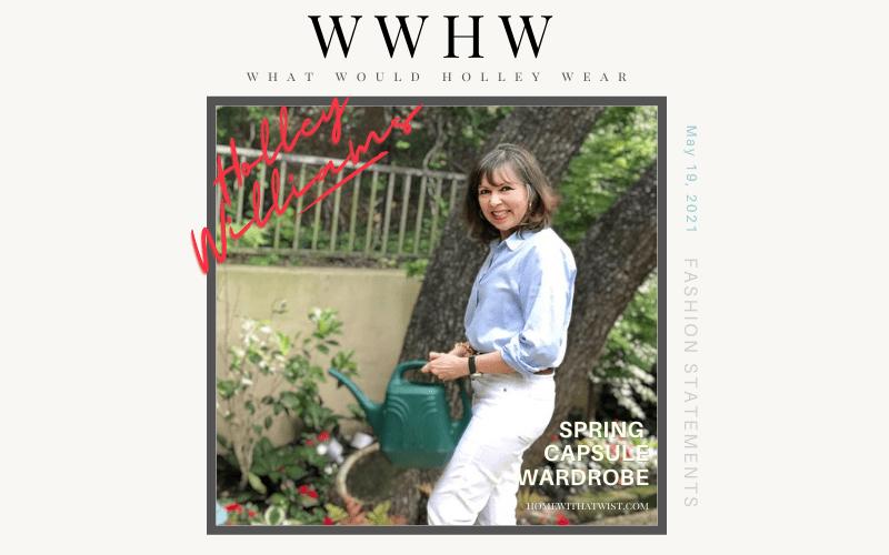 Spring Capsule Wardrobe – Pops of color and Fun Prints