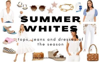 Summer Whites: Tops, Jeans & Dresses