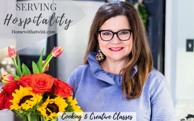 Serving Hospitality – Cooking and Creative Classes for Fall