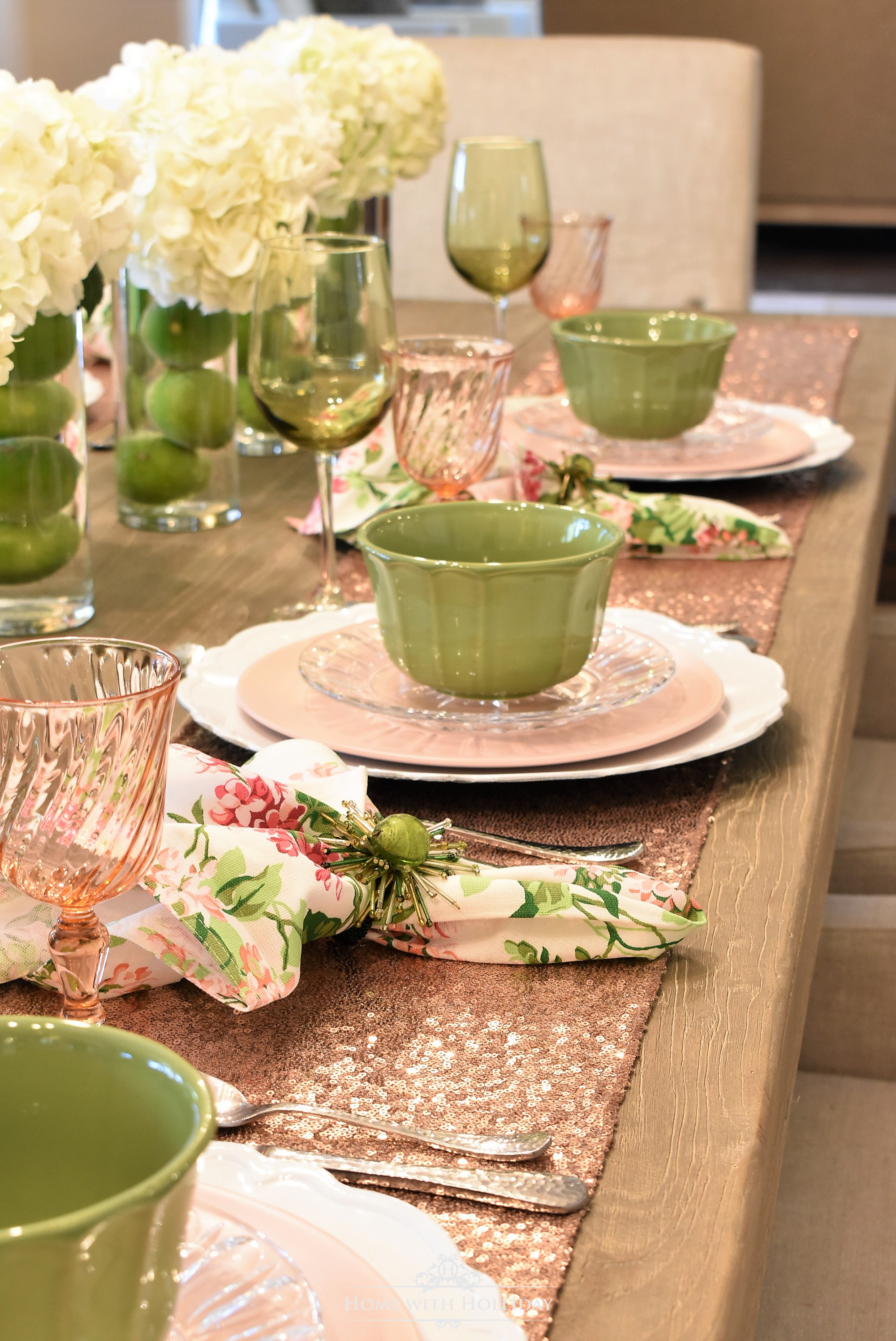 The Fresh Colors Are Perfect For A Spring Table Setting And Became The  Inspiration For The Rest Of The Table Decor. This Table Setting Would Also  Be Very ...