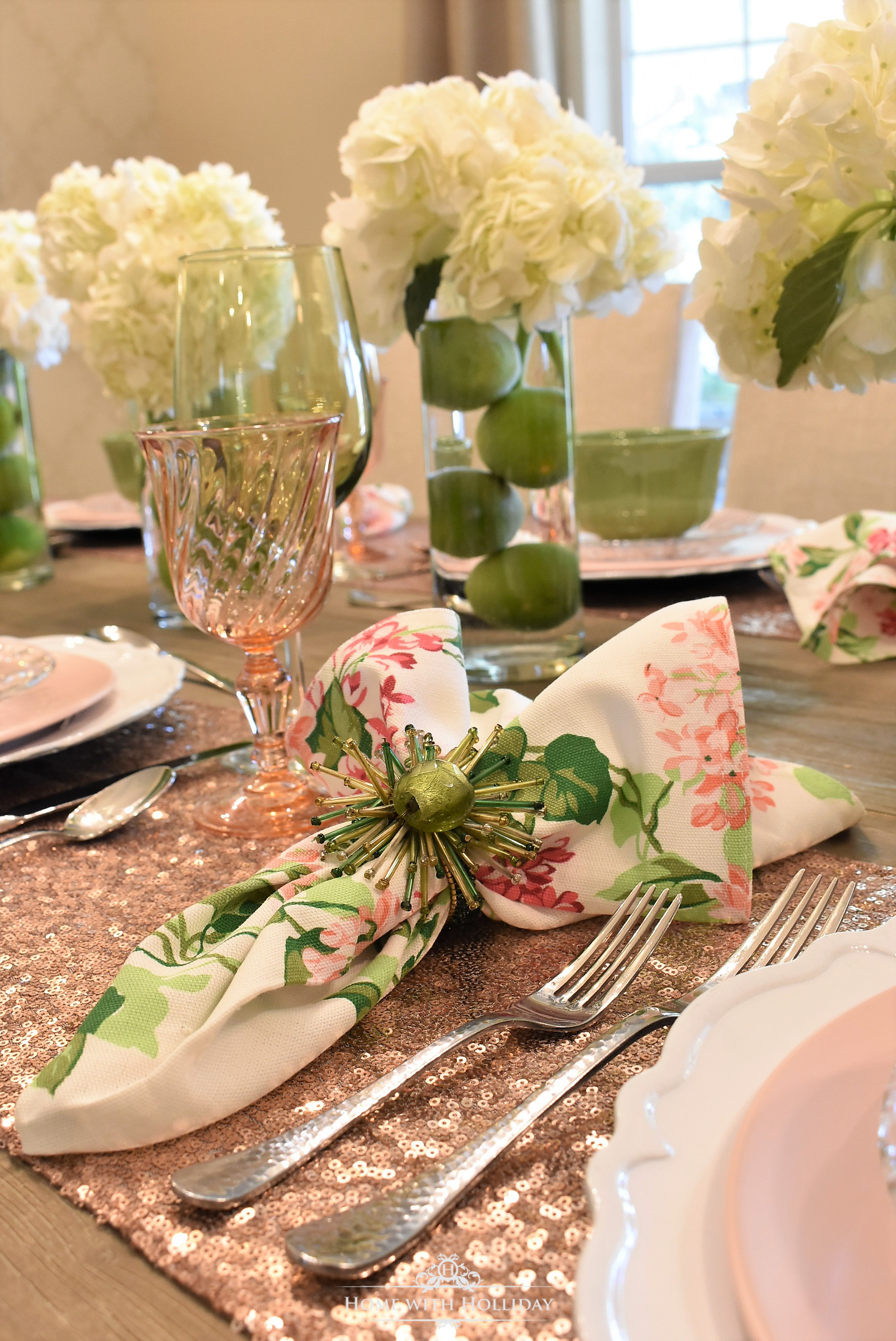 As you may know I enjoy including a bit of glam into most of my table settings and this one is no exception. I decided to reuse these blush pink table ... & Spring Table Setting for Mother\u0027s Day Luncheon - Home with Holliday