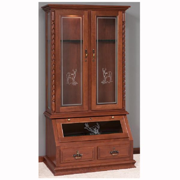 8 Gun Cabinet  Home Wood Furniture