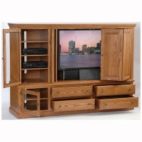 Entertainment Center Heirwood - Home Wood Furniture