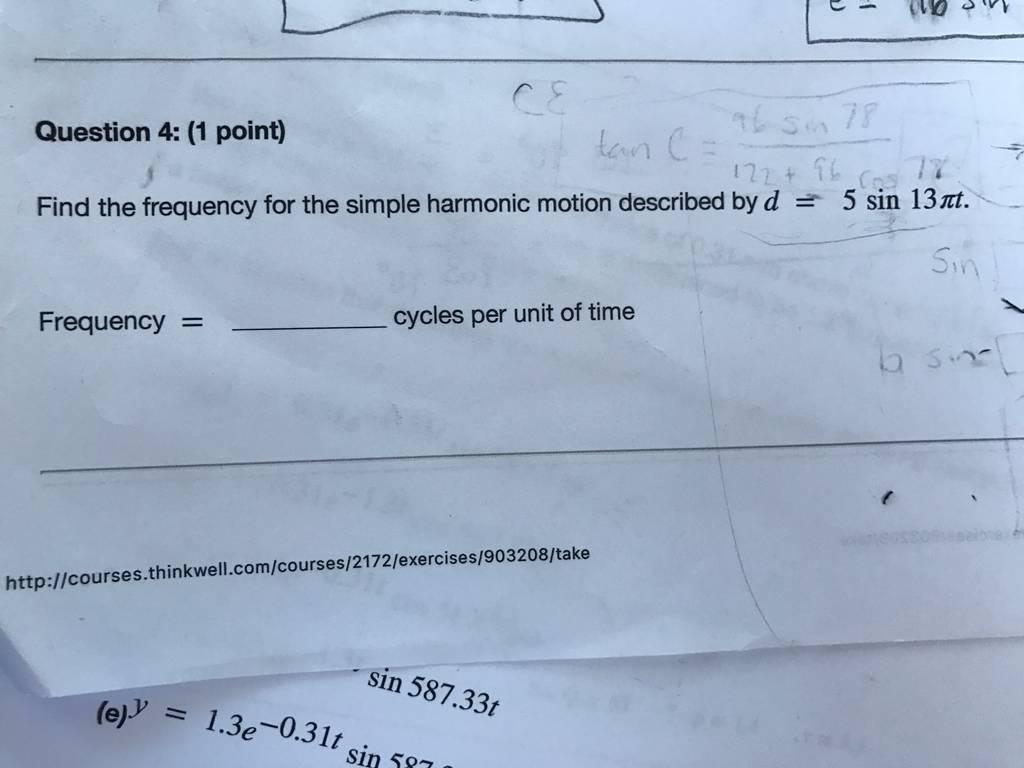 Solving Trigonometric Equations And Applications Of Trigonometric Functions