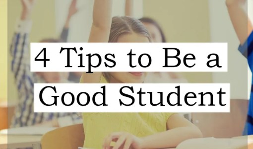 4 Tips to Be a Good Student online