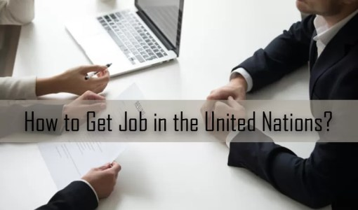 How to Get Job in the United Nations