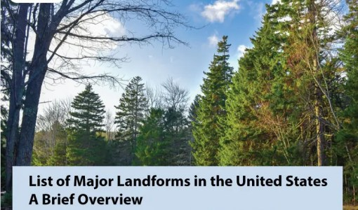List of Major Landforms in the United State Brief Overview