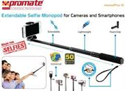 Promate Monopro-5 Extendable Selfie Monopod for Cameras and