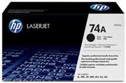 HP Original Replacement for HP 74A HP 92274A Black Laser Ton