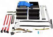 Intel SR1400/SR2400 Fixed drive kit. Backplane-Contains thre