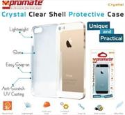 Promate Crystal -Clear Shell Protective Case For iPhone 5/5s