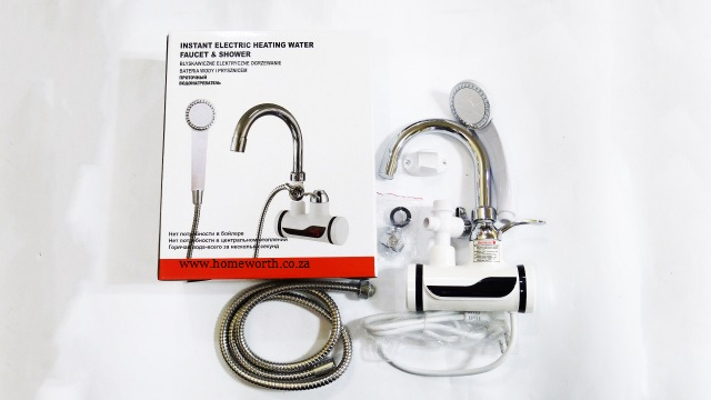 instant electric heating water faucet shower