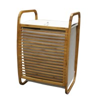 Homex Bamboo Laundry Hamper | HOMEX