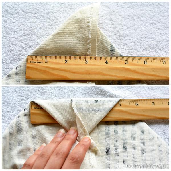 Folding triangle