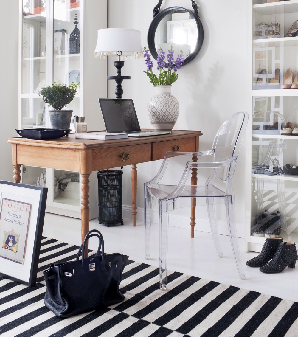 fun desk chairs vintage plastic ghost chair inspiration - homey oh my