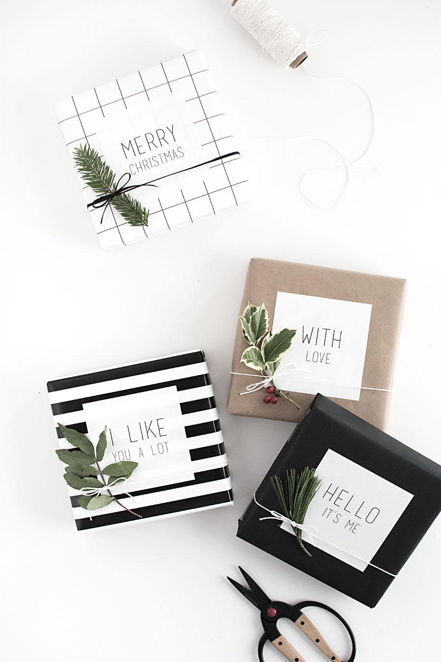 How To Wrap Christmas Gift