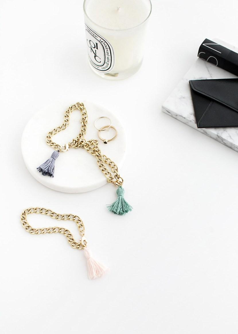 DIY Tassel Bracelets-2