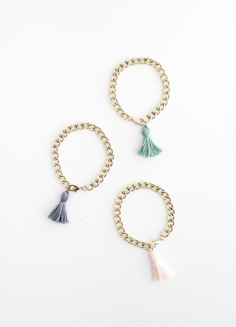 Tassel Bracelets- DIY
