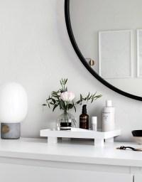 DIY Footed Vanity Tray - Homey Oh My