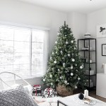 Modern Minimal Christmas Tree Homey Oh My