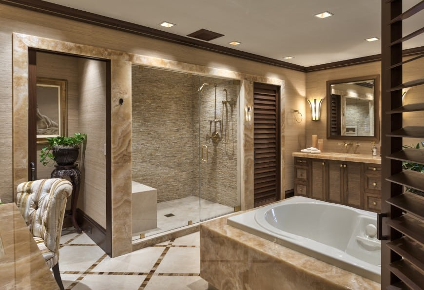 59 Luxury Modern Bathroom Design Ideas (Photo Gallery)
