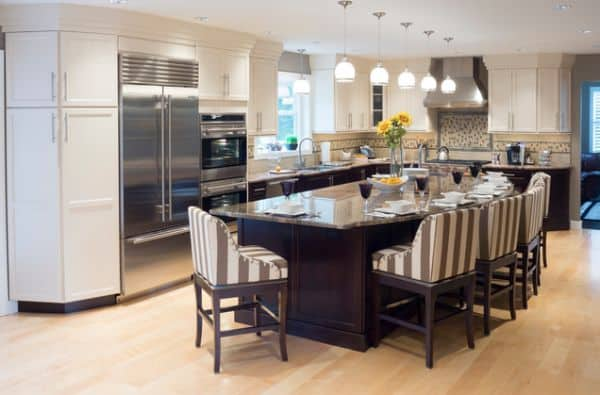 kitchen island seating countertops lowes design ideas with smart tables carts lighting cart