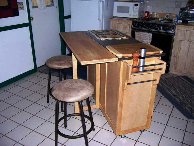 Kitchen Island Design Ideas With Seating SMART Tables Carts & Lighting