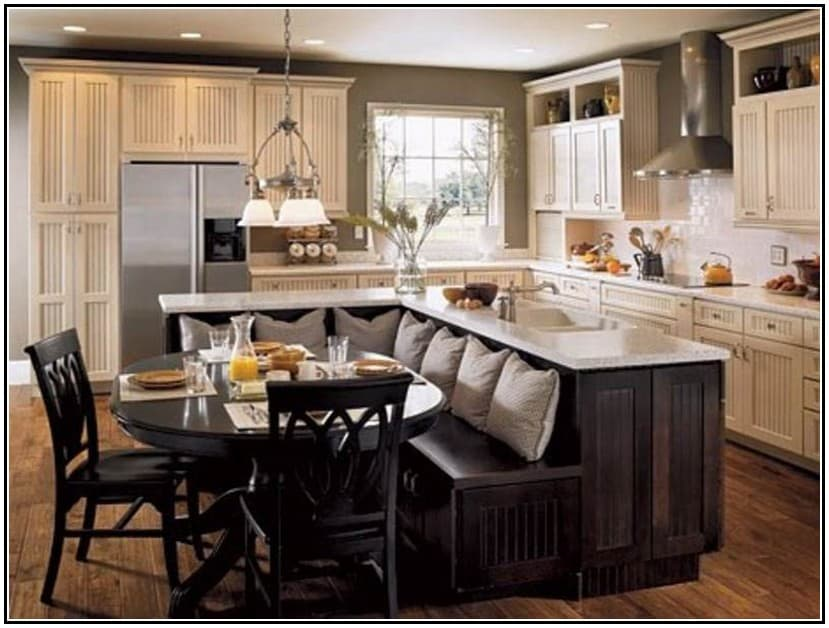 27 Captivating Ideas For Kitchen Island With Seating