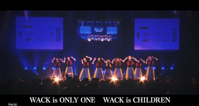 WACK is ONLY ONE WACK is CHILDREN