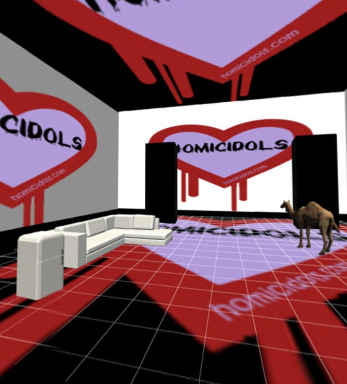 The Homicidols VR Party Room