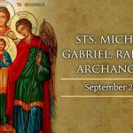 Homily for the Feast of the Archangels Michael, Gabriel and Raphael (2)