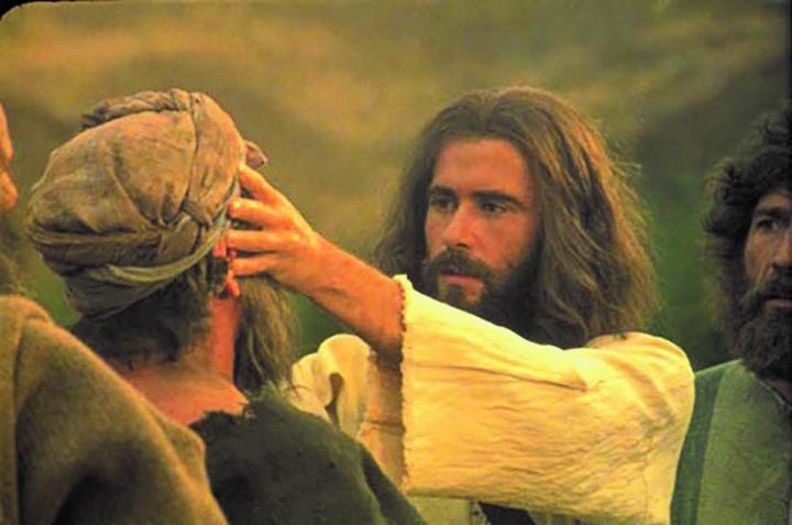 Jesus heals the deaf and dumb