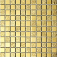 Gold Porcelain Tiles Bathroom Wall Backsplash Glazed ...