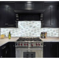 "Iridescent Subway Tile 1"" X 2"" Mosaic Bathroom Wall ..."