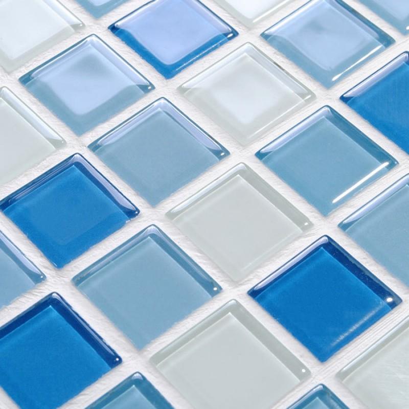 swimming pool tile blue