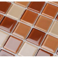 Wholesale Glass Mosaic for Swimming Pool Tile Sheet Brown ...