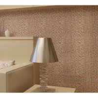 Natural Stone and Glass Mosaic Sheets Stainless Steel ...