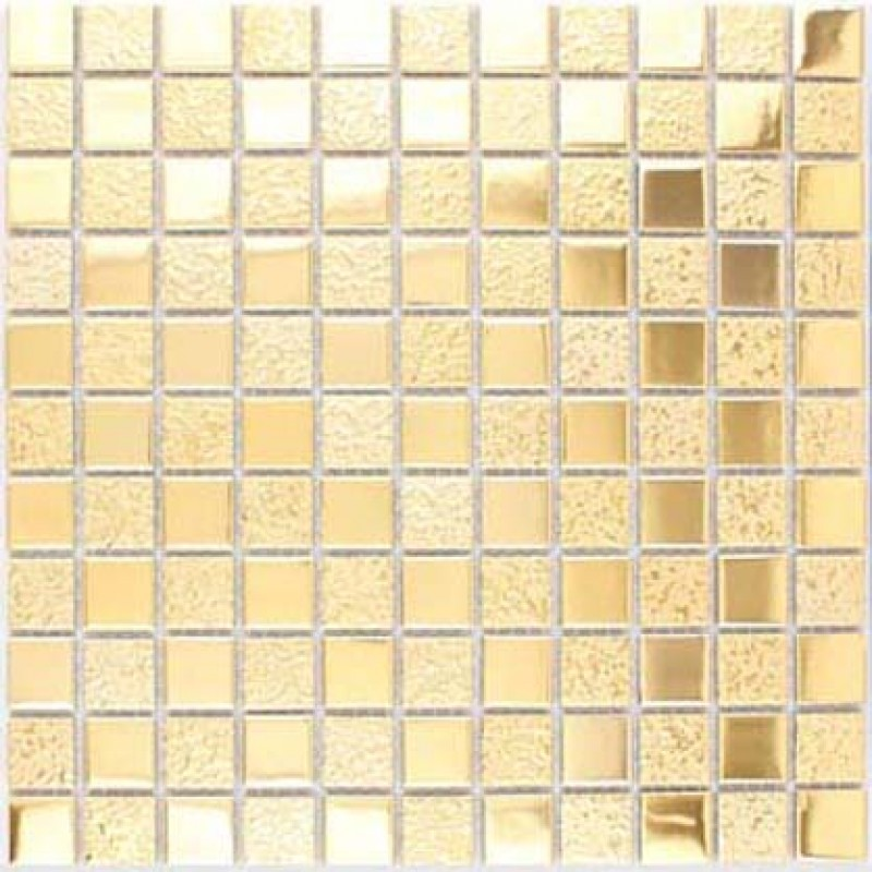 Gold Porcelain Tiles Bathroom Wall Backsplash Glazed