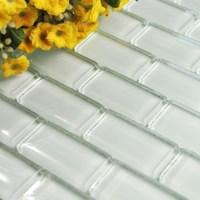 Wholesale Mosaic Tile Crystal Glass Backsplash Washroom ...