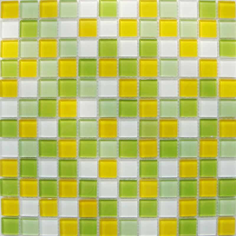Crystal Glass Mosaic Tiles Kitchen Backsplash Cheap