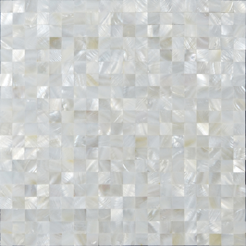 Wholesale Mother of Pearl Tile White Square Shell Tiles