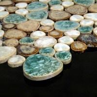 Porcelain Tile Pebbles Random Bricks Glazed Ceramic Mosaic ...