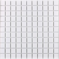 Wholesale Porcelain Tile Mosaic White Square Surface Art ...