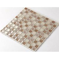 Crackle Glass Tile with Porcelain Base Bathroom Wall Tiles ...