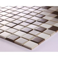 Glazed Porcelain Square Mosaic Tiles Wall Designs Ceramic ...