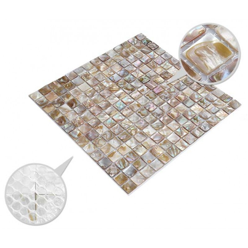 shell tiles 100% natural seashell mosaic mother of pearl